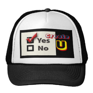 Create U Trucker Hat