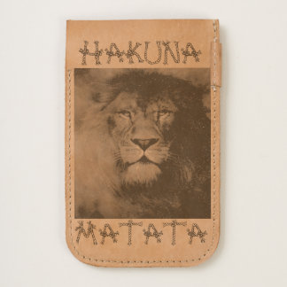 Create you own Hakuna Matata Lion Handmade Kenya iPhone 6/6S Case