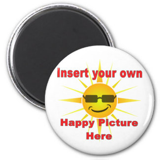 Create You Own Happy Magnet