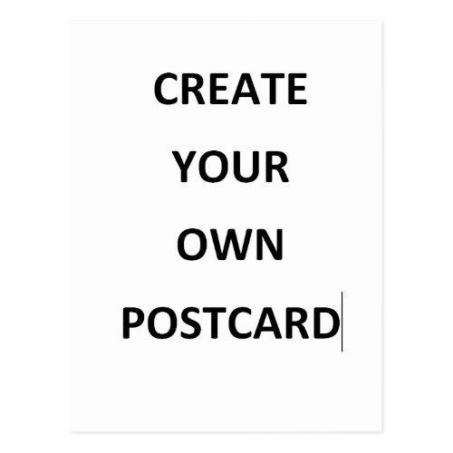 CREATE YOU OWN POSTCARD