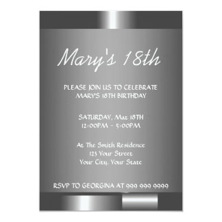 Create Your 18th Birthday Invitation