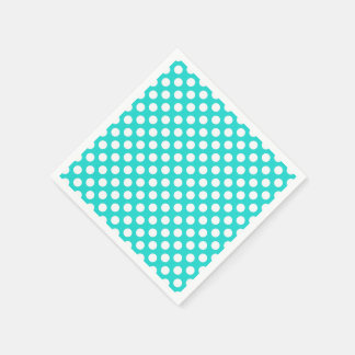 Create Your Background Color with White Dots 11 Napkin
