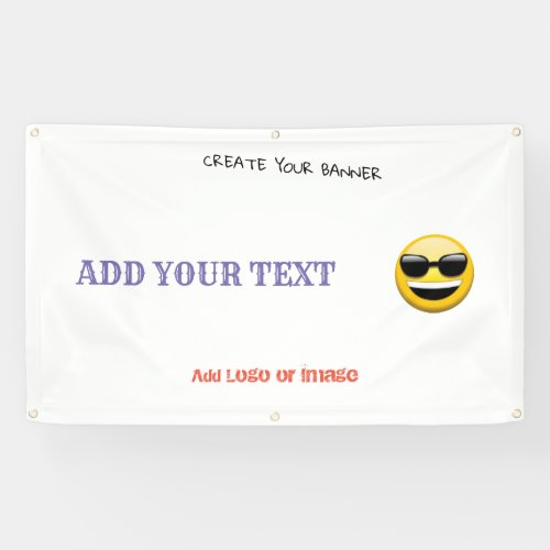 CREATE YOUR BANNER
