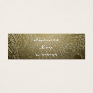 Create Your Business Card Peacock Feather
