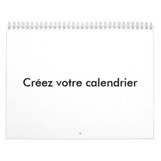 Create your calendar
