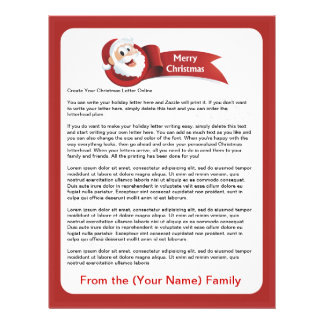 Create Your Christmas Letter Online Letterhead
