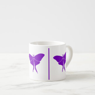 Create Your Color Luna Moth Silhouett Expresso Cup