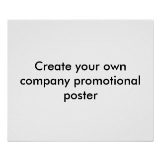Create Your Company Promotional Poster