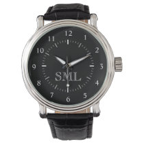 Create Your Custom Personalized Monogram Watch