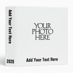 Create Your Custom Photo Binder!