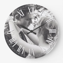 Create Your Custom Photo Personalized Large Clock