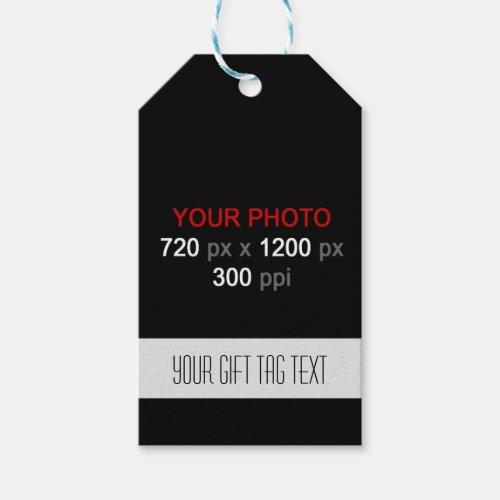 Create Your Custom Photos Gift Tag