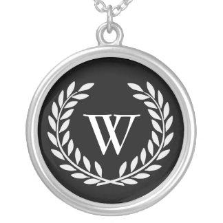 Create Your Decorative Monogram Necklaces
