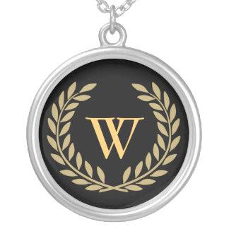 Create Your Decorative Monogram Necklace
