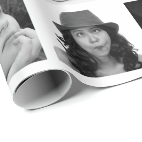 Create_Your_Own 10_Photo Collage Gift Wrap