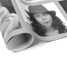 Create-Your-Own 10-Photo Collage Gift Wrap