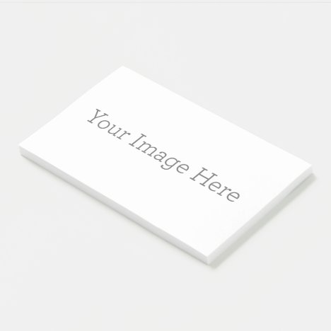 "Create Your Own 10""x6"" Post-it® Notes"