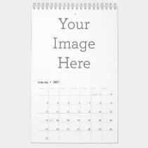 Create Your Own 12 Month One-Page Calendar