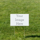 """Create Your Own 12""""x18"""" Yard Sign<br><div class=""""desc"""">Customize your very own yard sign using our easy to use design tool. Perfect for advertising for an event,  birthday party or any occasion. Simply upload your image,  add you text and create a yard sign that will pop from all the rest, </div>"""