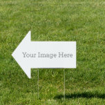 """Create Your Own 18""""x24"""" Arrow Yard Sign<br><div class=""""desc"""">Customize your very own yard sign using our easy to use design tool. Perfect for advertising for an event,  birthday party or any occasion. Simply upload your image,  add you text and create a yard sign that will pop from all the rest, </div>"""