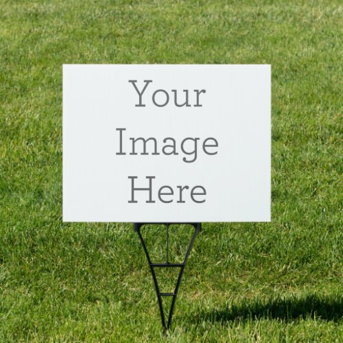 Create Your Own 18x24 Yard Sign