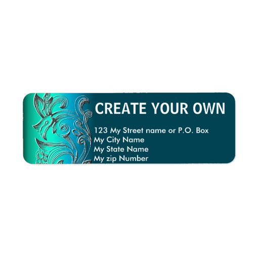 Create Your Own 19 simple return address Label, Custom ...