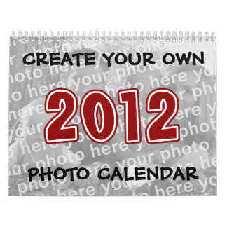 Create Your Own 2012 Photo Calendars