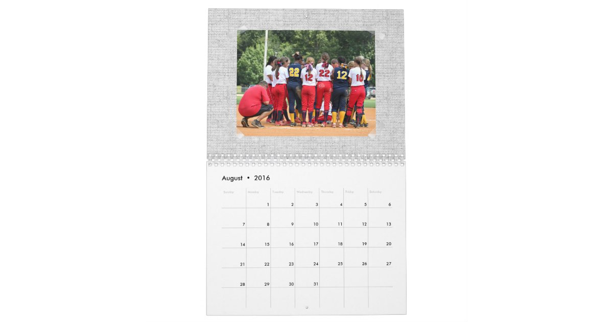Design Your Calendar : Create your own custom calendar zazzle