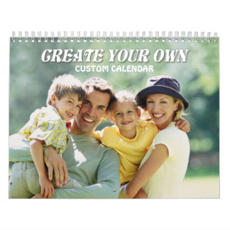 Create Your Own 2017 Calendar