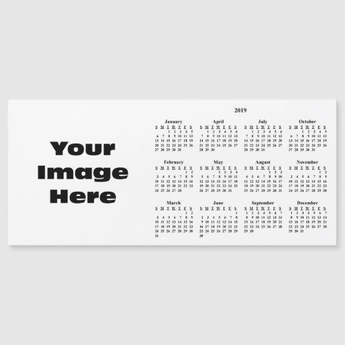 Create Your Own 2019 Custom Calendar Magnetic Card