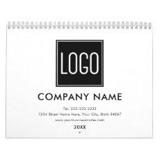Create your Own | 2020 Custom Business Logo Calendar