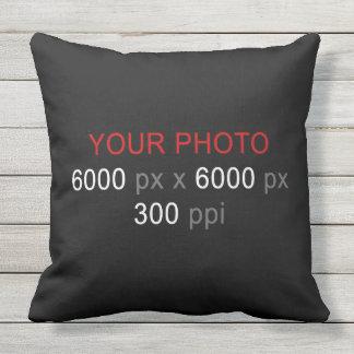 Create Your Own 2 Photos Custom Outdoor Pillow