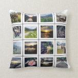 Create your Own 32 Photo Personalized Instagram Pillow