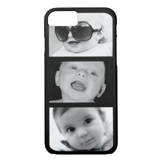 Create-Your-Own 3 Photo Collage iPhone 7 Case