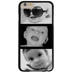 Create-your-own 3 Photo Iphone 6 Plus Case at Zazzle