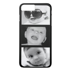 Create-your-own 3 Photo Iphone 7 Plus Case at Zazzle