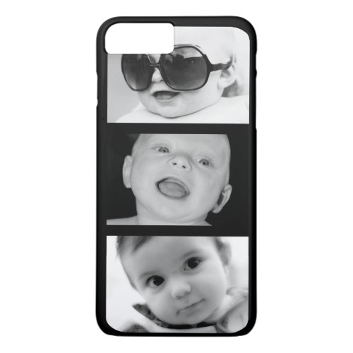 Create-Your-Own 3 Photo iPhone 7 Plus Case Phone Case