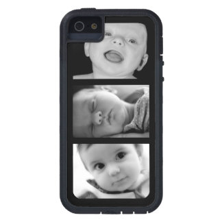 Create-Your-Own 3 Photo Upload iPhone 5 Case