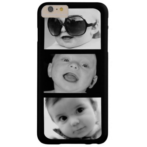 Create-Your-Own 3 Photo Upload iPhone 6 Plus Case Phone Case