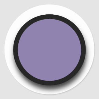 Create Your Own 3D LOOK Sticker A15 PURPLE BLACK