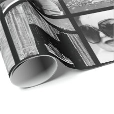 Create-Your-Own 42-Photo Collage Gift Wrap