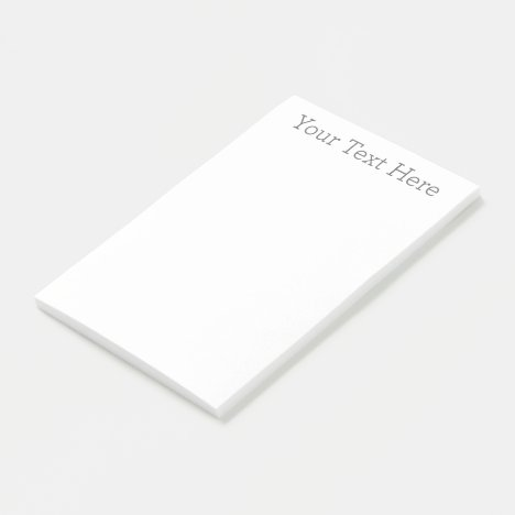"Create Your Own 4""x6"" Post-it® Notes"