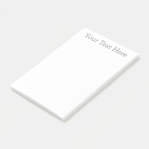 Create Your Own 4x6 Post_it Notes
