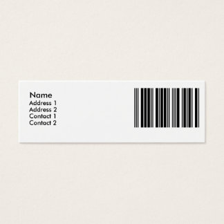 Create Your Own 5 Letters Mini Business Card