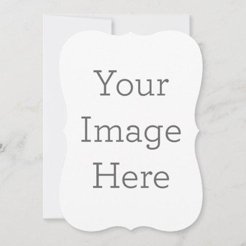 Create Your Own 5 x 7 Bracket Invitation