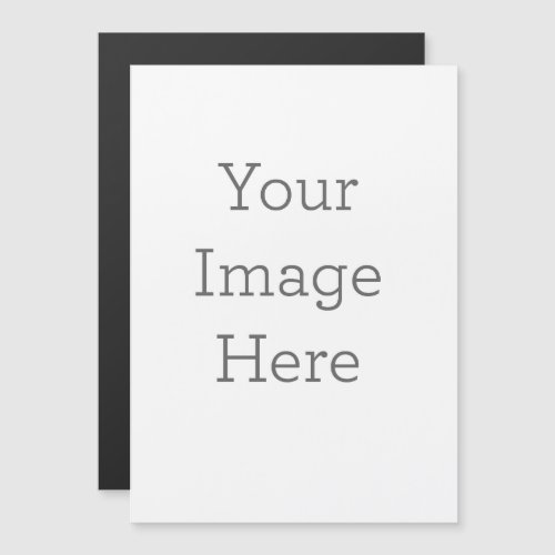 """Create Your Own 5"""" x 7"""" Wedding Invitation Magnet"""