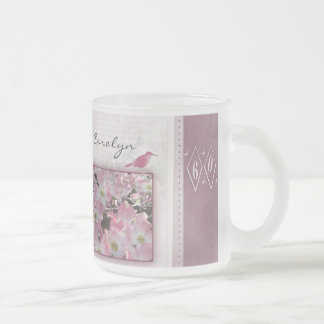 Create your own 60th birthday frosted glass coffee mug