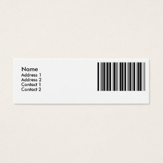 Create Your Own 6 Letters Mini Business Card