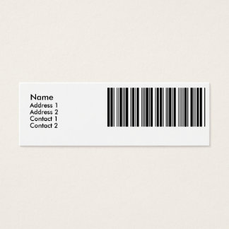 Create Your Own 8 Letters Mini Business Card