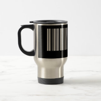 Create Your Own 8 Letters White Travel Mug